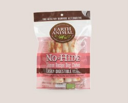 Earth Animal No Hide - Salmon Chew - 4 in - 2 pack