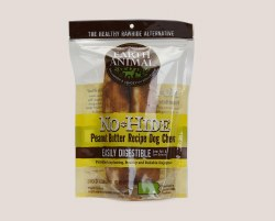 Earth Animal No Hide - Peanut Butter Chews - 7in - 2 Pack