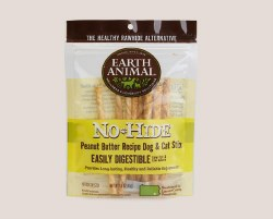 Earth Animal No Hide - Peanut Butter Chews - Small - 10 Pack