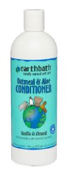 Earthbath - Oatmeal and Aloe Conditioner - Vanilla and Almond - 16 oz