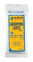 Earthbath - Grooming Wipes for Dogs - Mango Tango - 28 ct