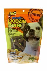 Fido - Dog Treats - Doozie Bones - Peanut - Small - 13 pack