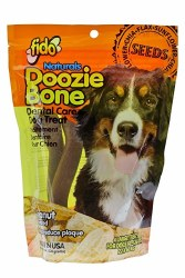 Fido - Dog Treats - Doozie Bones - Peanut - Large - 4 pack