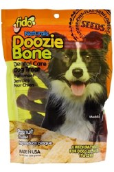 Fido - Dog Treats - Doozie Bones - Peanut - Medium - 8 pack