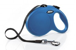 Flexi - Classic Tape Retractable Dog Leash - Blue - Large - 16'
