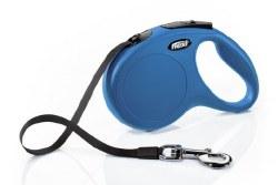Flexi - Classic Tape Retractable Dog Leash - Blue - Medium - 16'