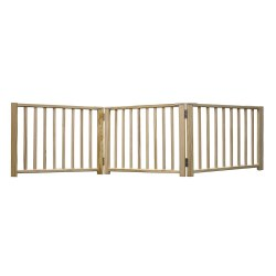 Four Paws - Wood 3 Panel Folding Gate