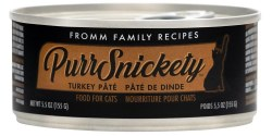 Fromm PurrSnickety - Turkey Pate - Canned Cat Food - 5.5 oz