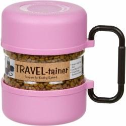 Gamma2 - Vittles Vault - Travel-Tainer Bowl - Pink