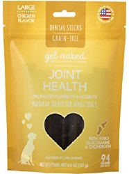 Get Naked - Dental Treats - Joint Health - Large - 6.6 oz