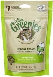 Greenies - Catnip Flavor Dental Treats - Cat Treats - 2.5 oz