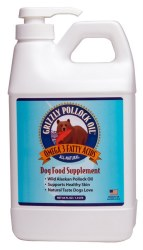 Grizzly - Wild Alaskan Pollock Oil - 64 oz