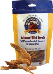Grizzly Pet Treats - Salmon Fillet Treats - 3 oz