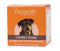Herbsmith - Comfort Aches - Pet Inflammation Reliever - Powder - 150 grams