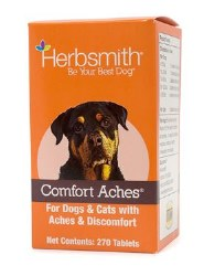 Herbsmith - Comfort Aches - Pet Inflammation Reliever - Tablets - 270 Tablets