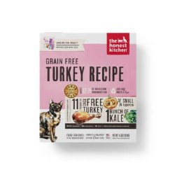 The Honest Kitchen - Grain Free Turkey Recipe - Dehydrated Cat Food - 2 lb