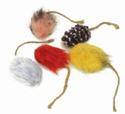 Boca Pet - Cat Toy - Honeysuckle Funky Mice