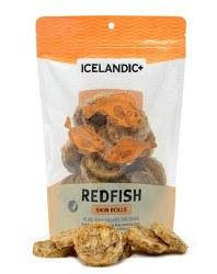 Icelandic+ - Dog Treats - Redfish Skin Rolls - 2.5 oz