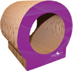 Imperial Bunny - Scratch 'n Nibble Ball Tunnel - Purple
