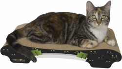 Imperial Cat - Cardboard Scratcher - Bella Sofa - Cat Eyes