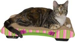 Imperial Cat - Cardboard Scratcher - Bella Sofa - Stripes