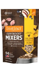 Instinct Raw Boost Mixers - Cage Free Chicken Recipe - Freeze Dried Dog Food - 14 oz