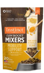 Instinct Raw Boost Mixers - Mobility Support - Freeze Dried Dog Food - 5.5 oz