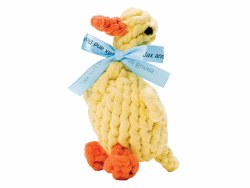 Jax & Bones - Rope Dog Toy - Duck - Large