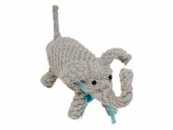Jax & Bones - Rope Dog Toy - Elephant - Large
