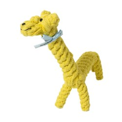 Jax & Bones - Rope Dog Toy - Giraffe - Small