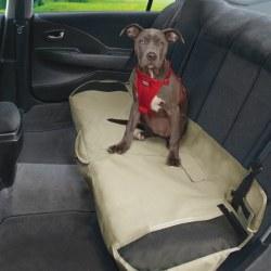 Kurgo - Shorty Bench Seat Cover - Khaki