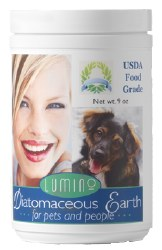 Lumino - Diatomaceous Earth for Pets and People - 9 oz