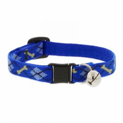 Lupine - Adjustable Cat Collar with Bell - Dapper Dog