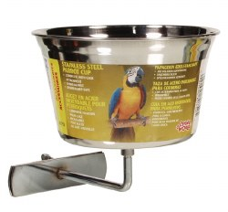Living World - Stainless Steel Cup for Birds - 32 oz