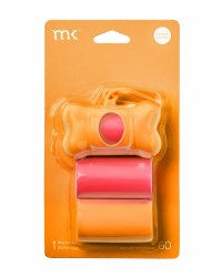 Modern Kanine - Bag Dispenser - Orange