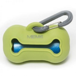 Messy Mutts - Waste Bag Holder - Green