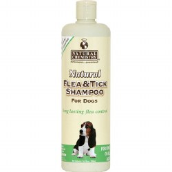 Natural Chemistry - Flea and Tick Shampoo for Dogs - 16.9 oz
