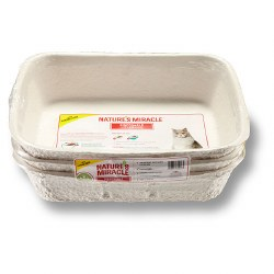Nature's Miracle - Disposable Litter Box - 3 pack