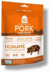 Open Farm - Dehydrated Pork - Dog Treats - 4.5 oz