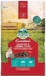 Oxbow Essentials - Hamster & Gerbil Food - 1 lb
