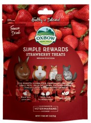 Oxbow Simple Rewards - Strawberry Treats - .5 oz