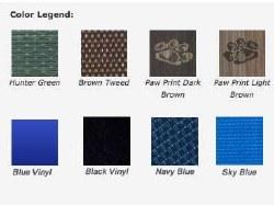 """Pet Cot Dog Bed - Green - 46x30"""""""