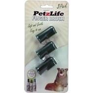 PetzLife - Finger Toothbrush - 3 pack