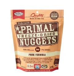 Primal - Pork Formula - Freeze Dried Cat Food - 5.5 oz