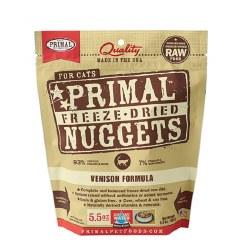 Primal - Venison Formula - Freeze Dried Cat Food - 5.5 oz
