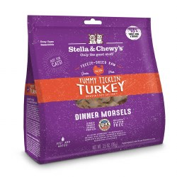 Stella & Chewy's - Tummy Ticklin' Turkey Dinner Morsels - Freeze Dried Cat Food - 3.5 oz