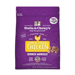 IN STORE AND CURB-SIDE PICK UP ONLY - Stella & Chewy's - Chick, Chick Chicken Dinner Morsels - Raw Cat Food - 3 lb