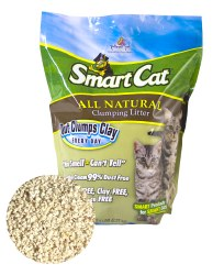 Smart Cat Grass Clumping Litter - 5lb