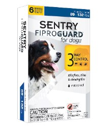 Sentry Fiproguard - 89 lb and Over Dog - 3 months