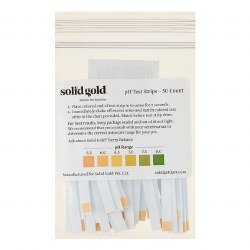 Solid Gold - PH Test Strips - 50 ct